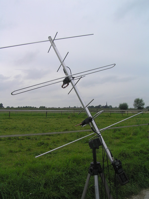 That Homebrew arrow antenna 2m for that