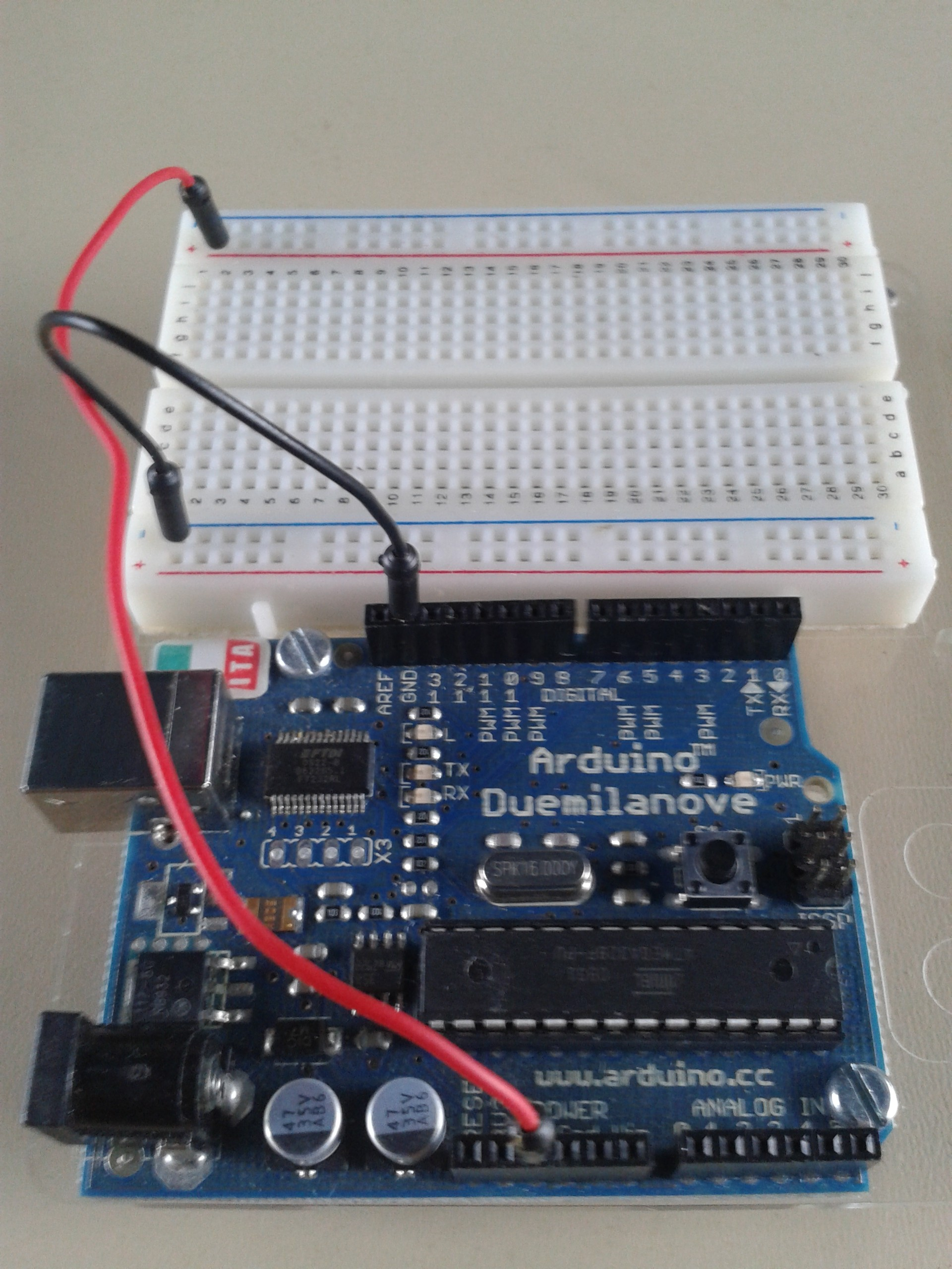 Getting started with Arduino: morse keyer – Ernest